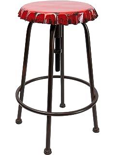 Thresenhocker De Métal Capsules Look Bar Chaise Industrial En Style 7bYfg6y