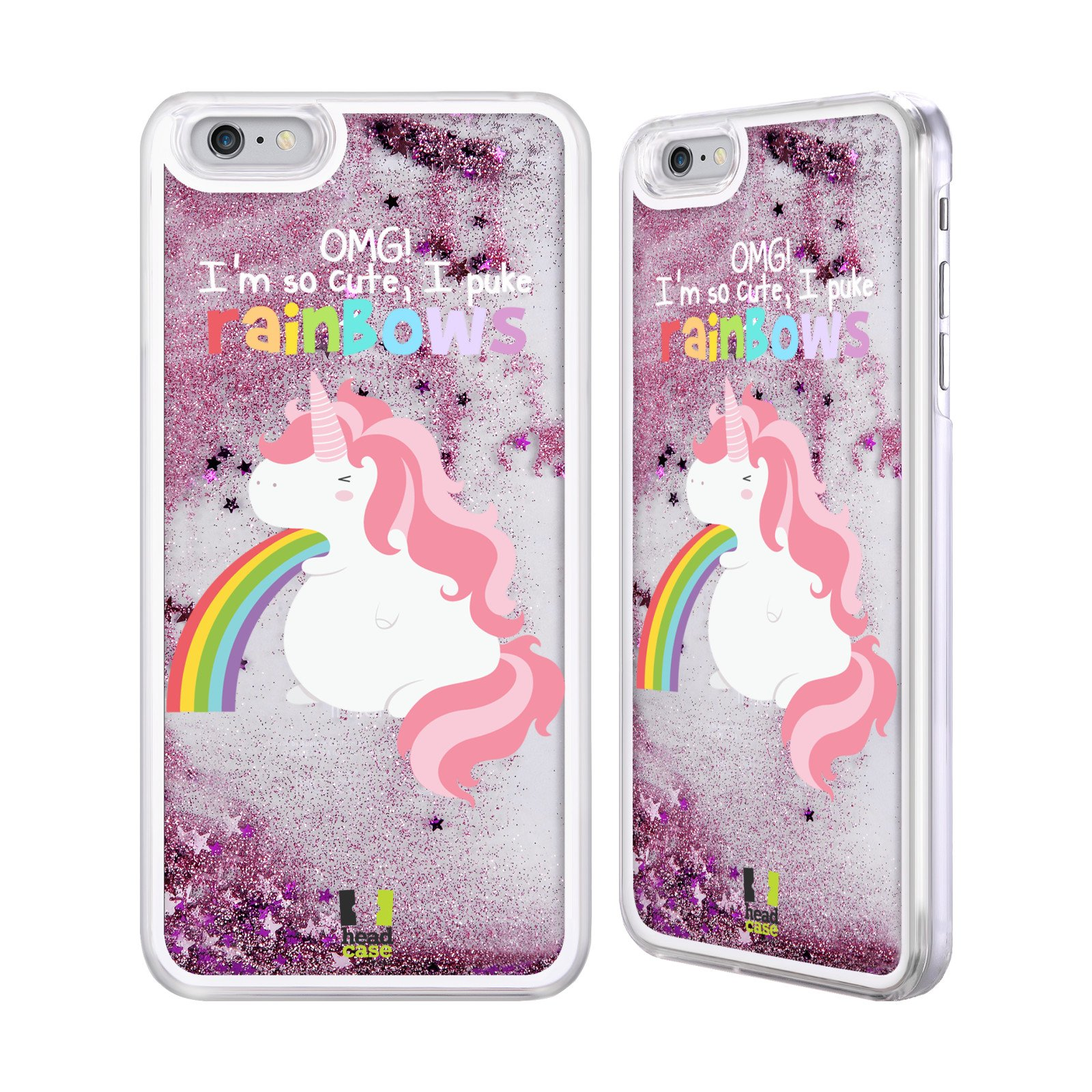 Apple iPhone Unicorn Liquid Glitter