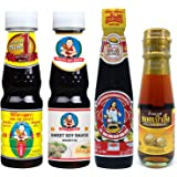 Thai Food Cooking Sauce Kit (Essential Set, Small-size Bottle)