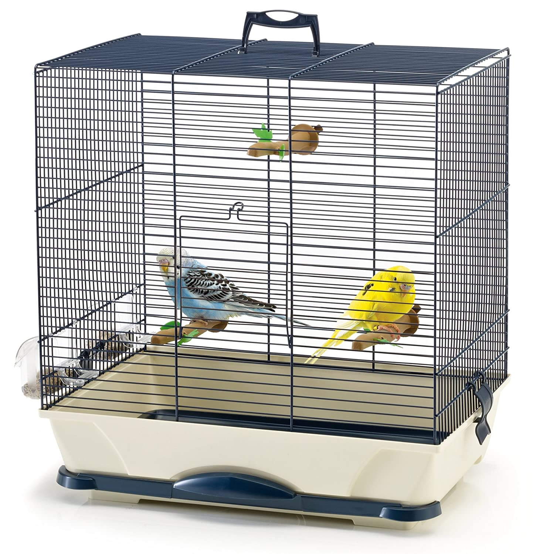 SAVIC Primo 40 jaula de pájaros, 46 x 32 x 48 cm: Amazon.es ...