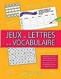 Jeux de lettres et de vocabulaire