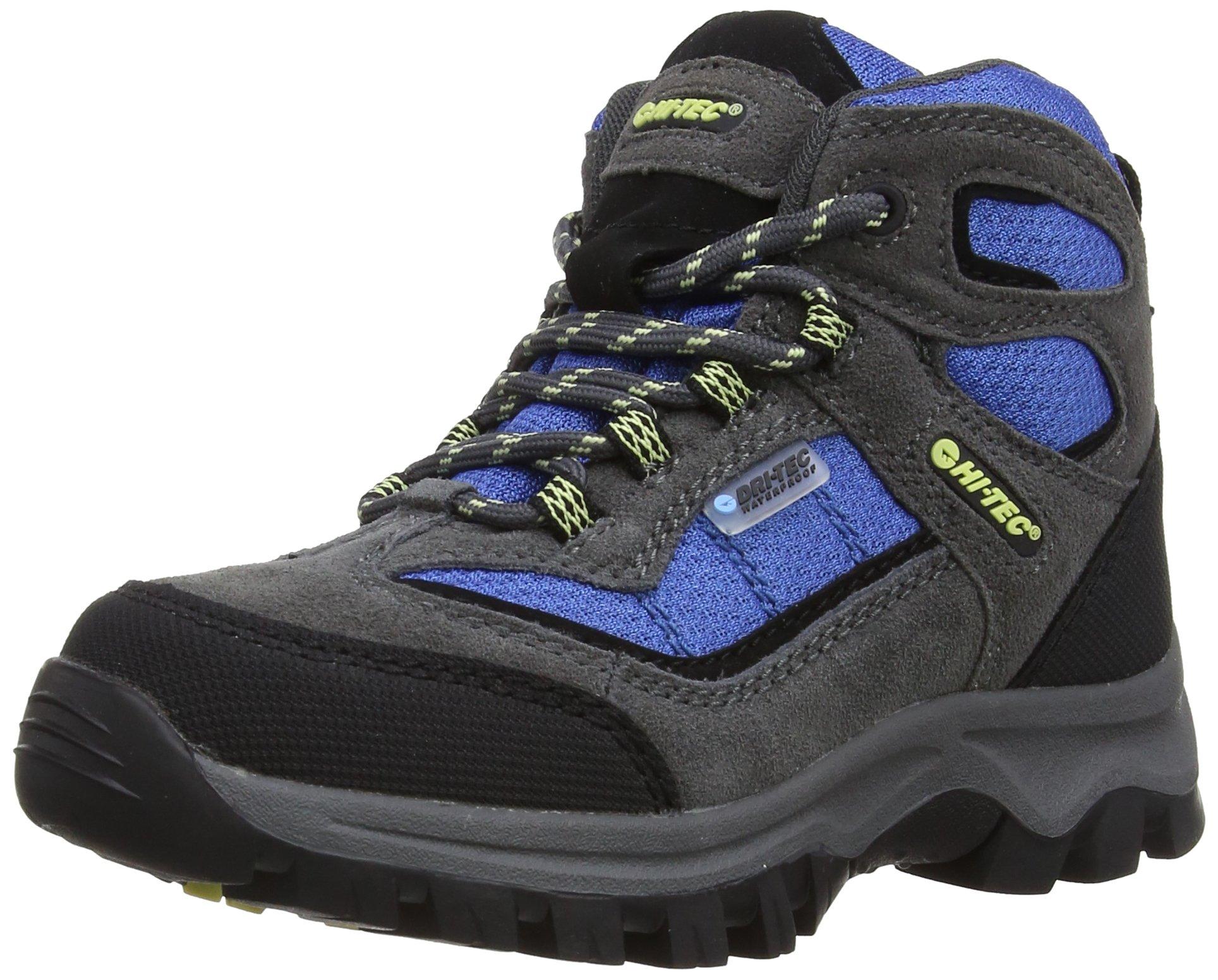 HI TEC Boys' Hillside Waterproof Boot, Grey, US5