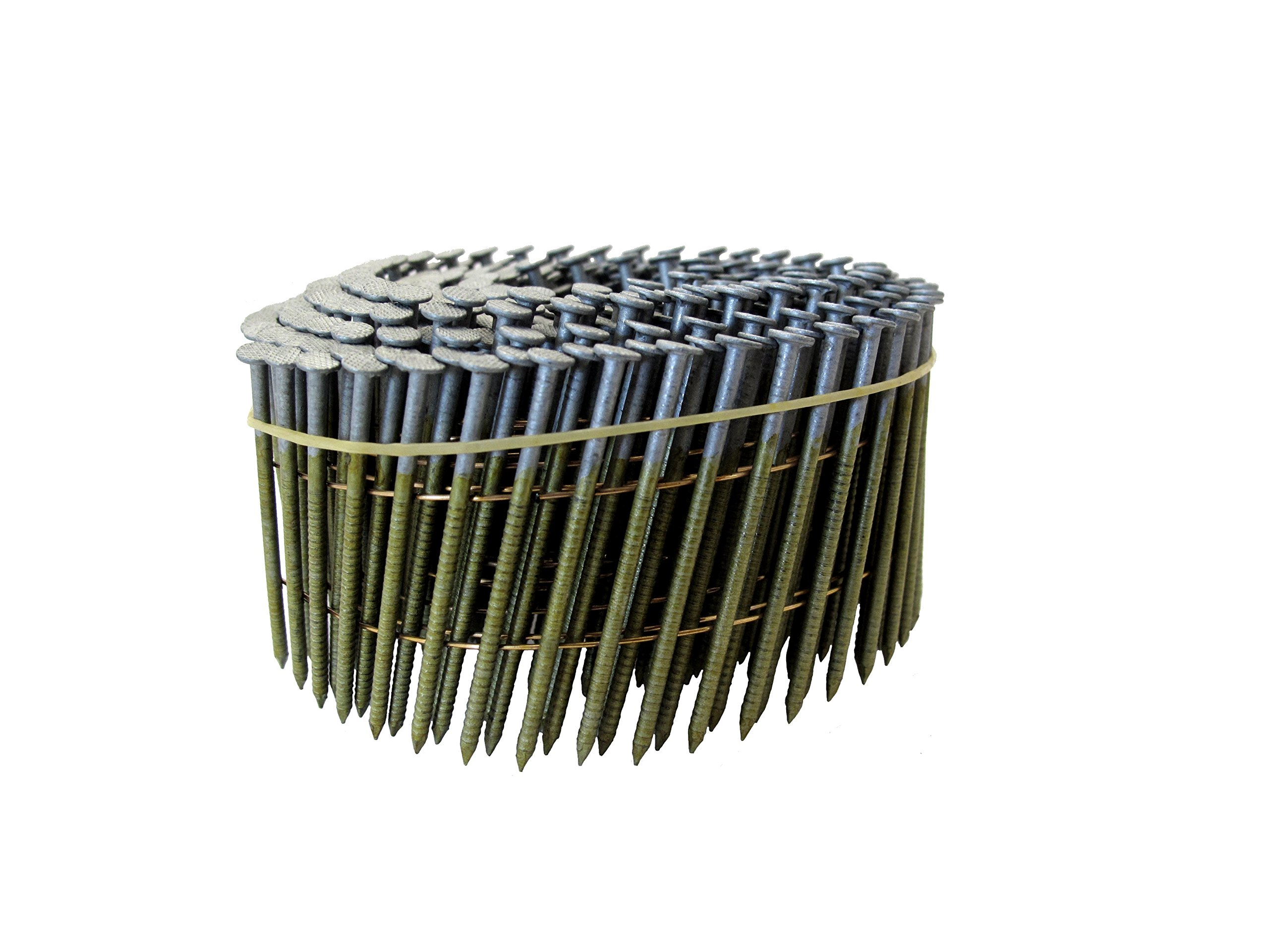 Grip Rite Prime Guard GRC7R92HG1 15 degree Wire Weld Coil Exterior Galvanized Collated Fencing and Siding Nails, 2-3/16'' x 0.092''