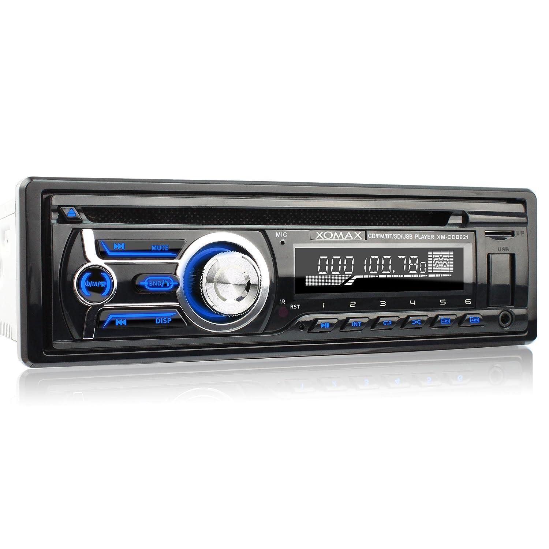 XOMAX XM-CDB621 Car Stereo with CD-Player + Bluetooth: Amazon.co.uk ...