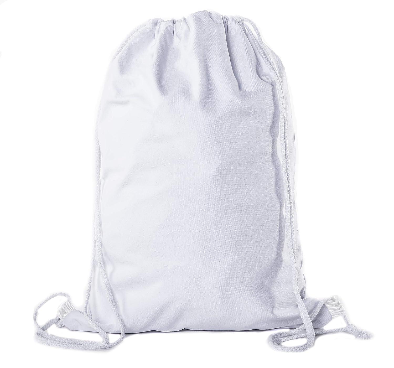 Bulk Cinch Backpacks Mato /& Hash Cotton Drawstring Bags Promotional Pull String Backpacks