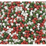 SweetGourmet Jingle Mix - Christmas Sprinkles & Nonpareils (8Lb)
