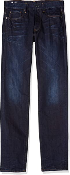 TALLA 29W / 32L. G-STAR RAW 3301 Tapered Jeans para Hombre
