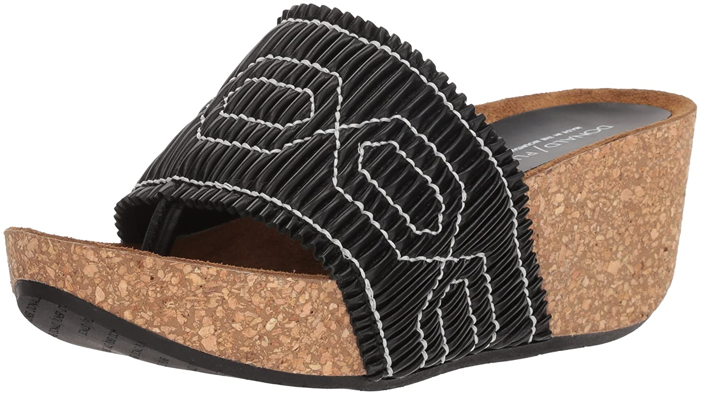 Donald J Pliner Women's Gess Slide Sandal B07559BZV6 11 B(M) US|Black