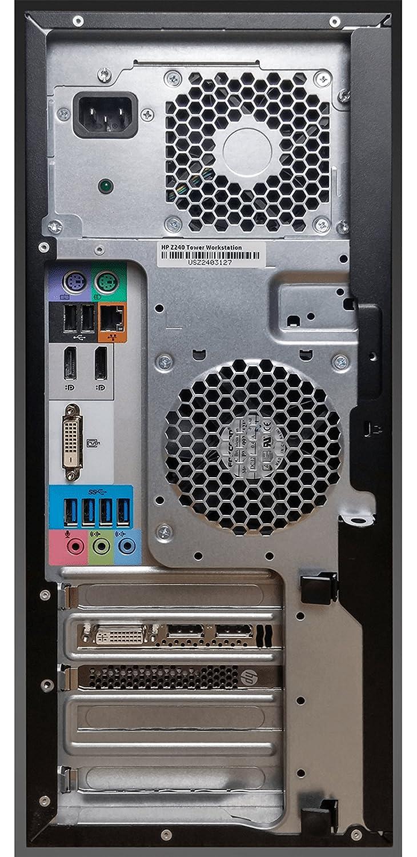 Amazon com: HP Z240 Workstation Tower Computer, Quad-Core i7 6770K