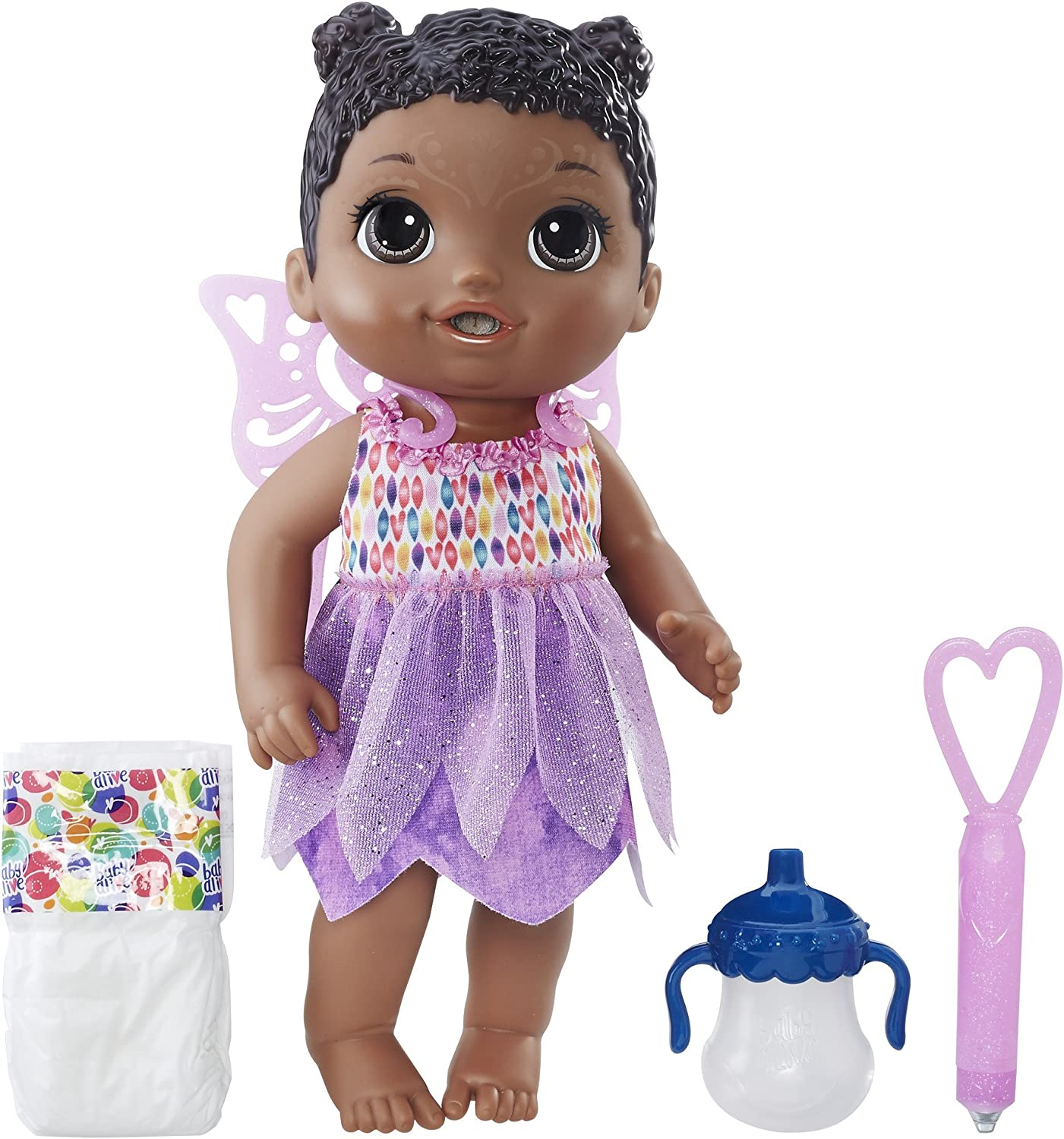 Amazon Com Baby Alive Face Paint Fairy African American Toys Games