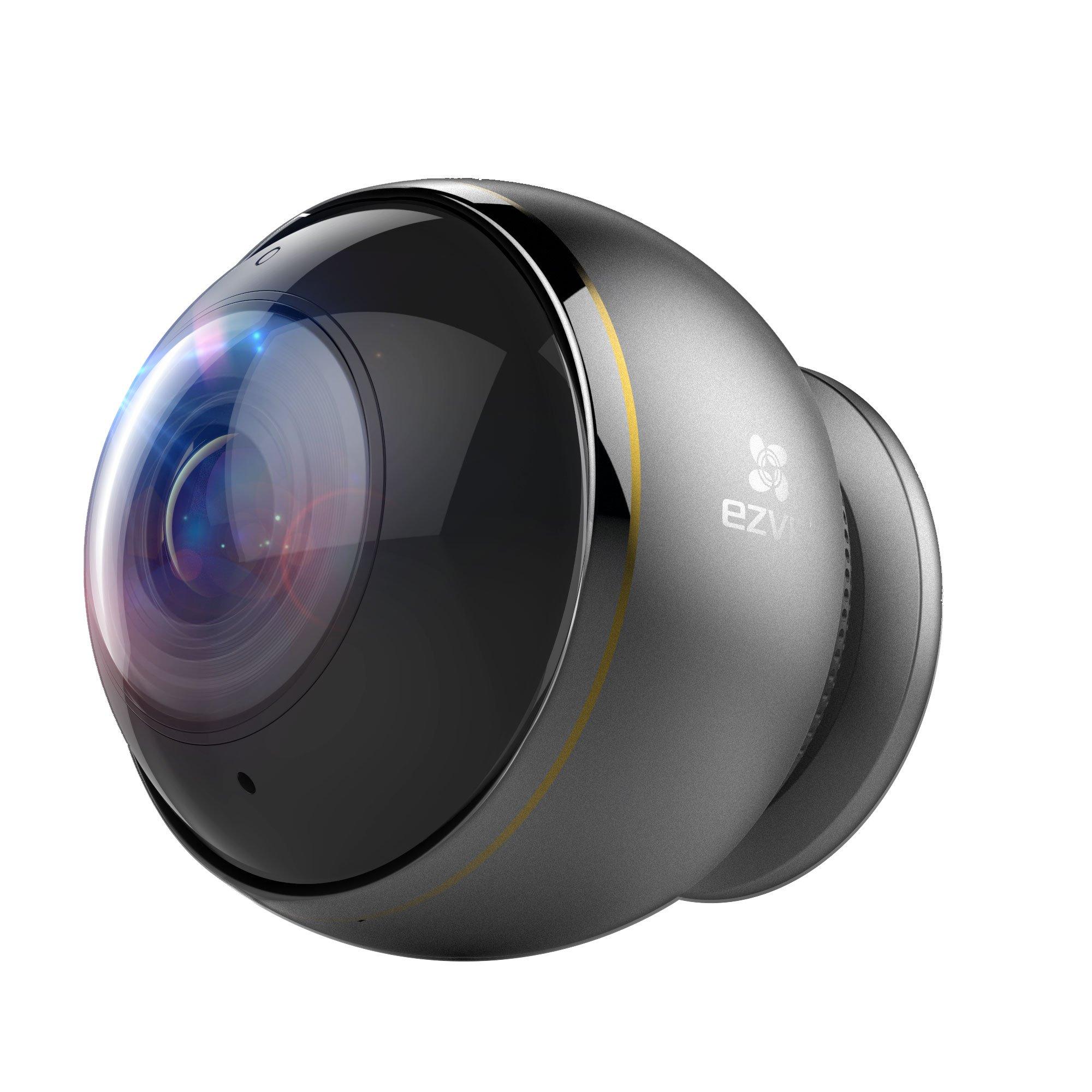 EZVIZ ez360 Pano TripleHD 360 Degree Panoramic Wireless Wi-Fi Security Camera, 3MP STARVIS Back Illuminated Image Sensor, Fisheye Lens,  Full Duplex Two-way Audio by EZVIZ (Image #1)