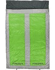 Fridani QG 225d 2 Personas XXL Camping Saco de Dormir de hasta 8 °C Outdoor