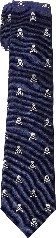 Scalpers Skull Tie CORBATA, WHITE, UNICA para Hombre: Amazon.es ...