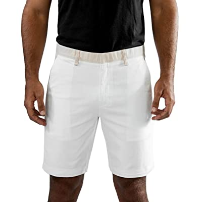 MOZZI Men's Classic-Fit Cotton Twill Bermuda Shorts Collection 2 at Amazon Men's Clothing store