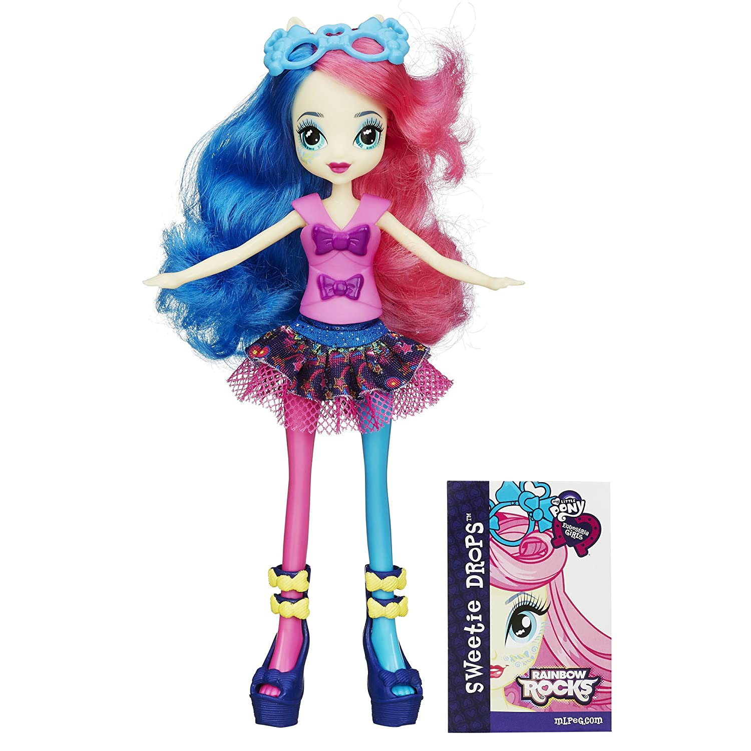 Amazon.com: My Little Pony Equestria Girls Rainbow Rocks Sweetie Drops  Doll: Toys \u0026 Games
