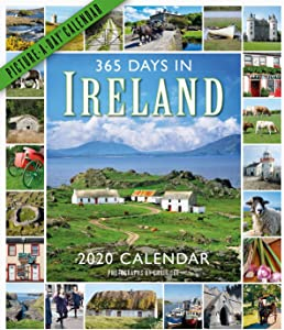 "365 Days in Ireland Picture-A-Day Wall Calendar 2020 [12"" x 14"" Inches]"