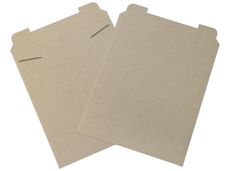 Aviditi RM4 Flat Mailer Kraft Case of 100 15 Length x 12-3//4 Width