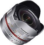 SAMYANG 単焦点魚眼レンズ 7.5mm F3.5 フィッシュアイ マイクロフォーサーズ用 シルバー