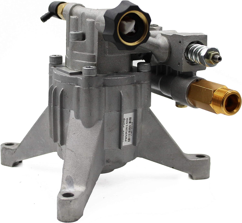 WASPPER ✦ Bomba de Reemplazo Hidrolimpiadora Vertical 3100 PSI 210 Bar y Bomba de Reemplazo de Hidro Lavadora 6.5 HP ✦ Cabezal de Aluminio, Modelo NR. PA000-PWVR28/2.5H