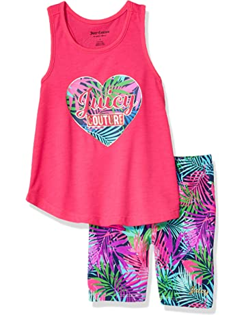 86858a003 Juicy Couture Girls  2 Pieces Shorts Set