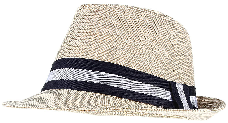 Gemvie Mens Summer Short Brim Sun Hat Beach Fedoras Cap Jazz Hat Cap