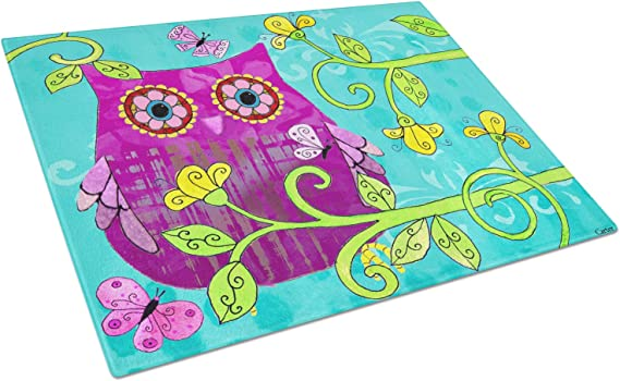 Carolines Treasures BB7384LCB Butterfly Watercolor Chopping Board Large Multicolor