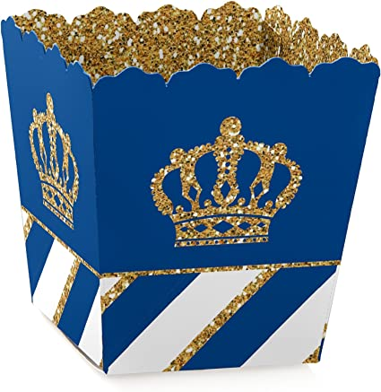Amazon.com: Royal Prince Charming – Goodie cajas favor ...