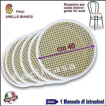 Asiento de rejilla de repuesto para silla de PVC (modelos:Bistrot, Vienna, Thonet): Amazon.es: Hogar