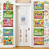 Luau Party Signs Aloha Welcome Signage Tropical Summer Birthday Party Hawaiian Party Baby Shower Yard Decorations Tiki Bar Ph