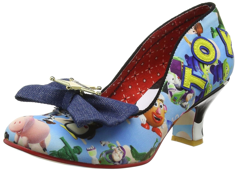 Irregular Choice Sheriff Woody, Zapatos de Tacón con Punta Cerrada para Mujer 40 EU