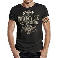 Camiseta de motorista Racer, diseño de Motorcycle Brotherhood