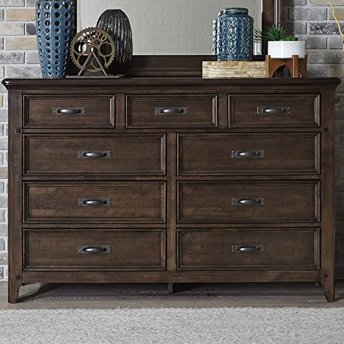 Liberty Furniture Industries Saddlebrook 9 Drawer Dresser