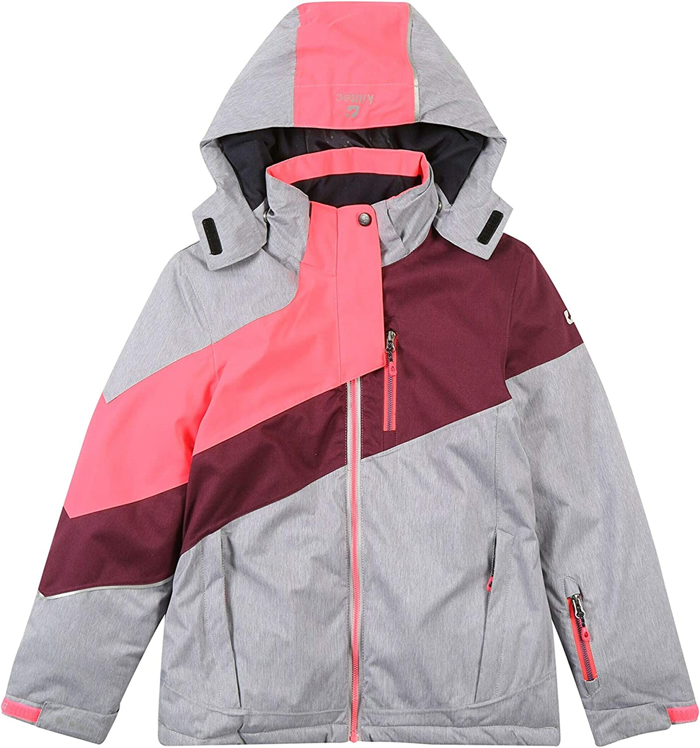 killtec Girls Helina Jr Functional Outdoor Winter Jacket with Hood//Waterproof//Hydrostatic Head 10000 mm