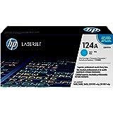 HP 124A (Q6001A) Blau Original Toner für HP Color Laserjet 2600, 2605, 1600, CM1016, CM1017