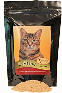U-Stew for Cats - Make Your own Homemade Cooked cat Food! Cat Food Supplement