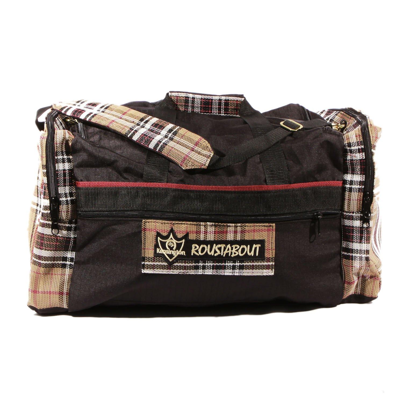 Kensington KPP Roustabout Gear Bags, Deluxe Black Plaid, Large