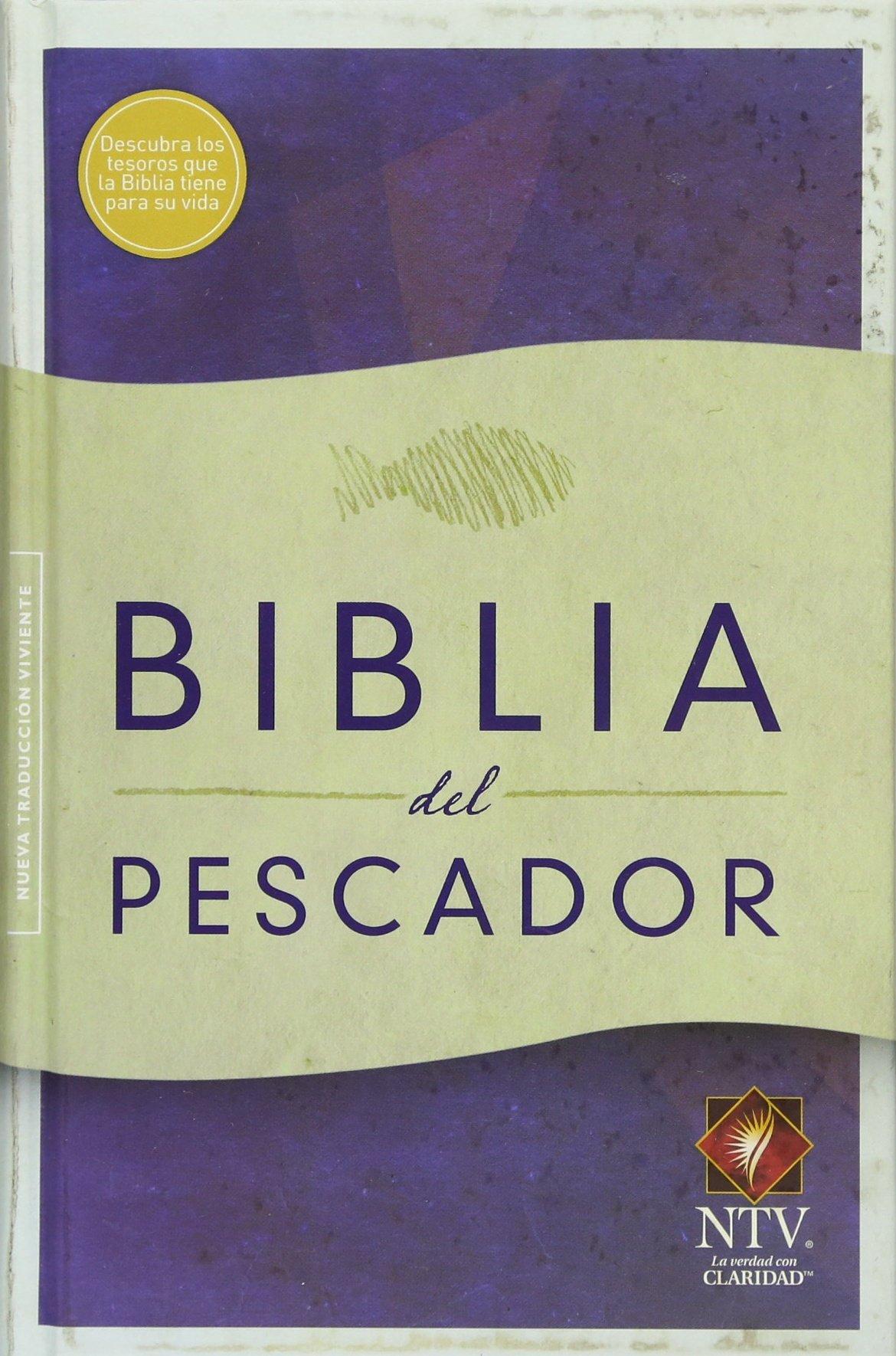 NTV Biblia del Pescador, tapa suave: Amazon.es: Luis angel ...