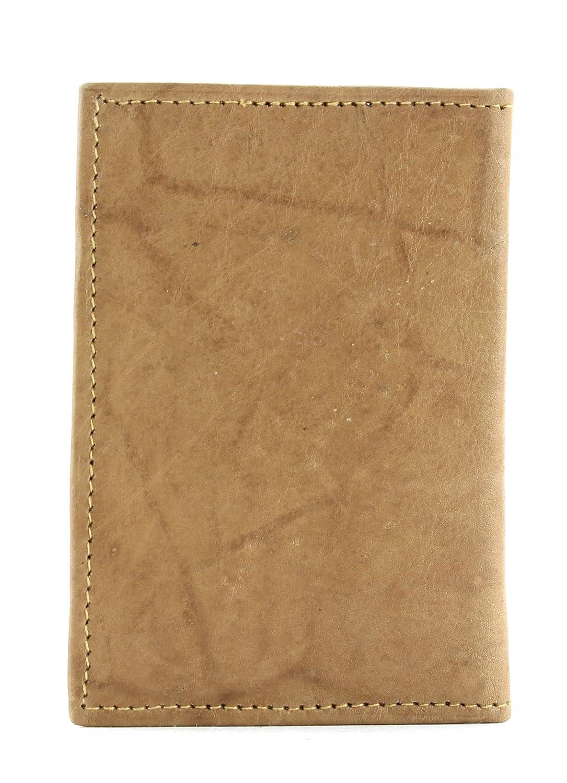 Bacci Top Grain Cowhide Slim Card Case Tan