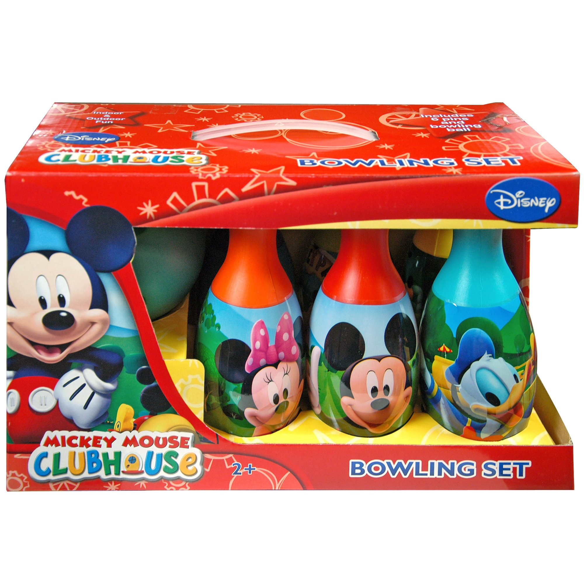 Disney Mickey Mouse Clubhouse Bowling Play Set