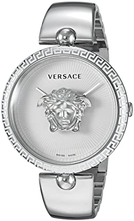664ff07ef1 Versace Women s Palazzo Empire Swiss-Quartz Watch with Stainless-Steel  Strap