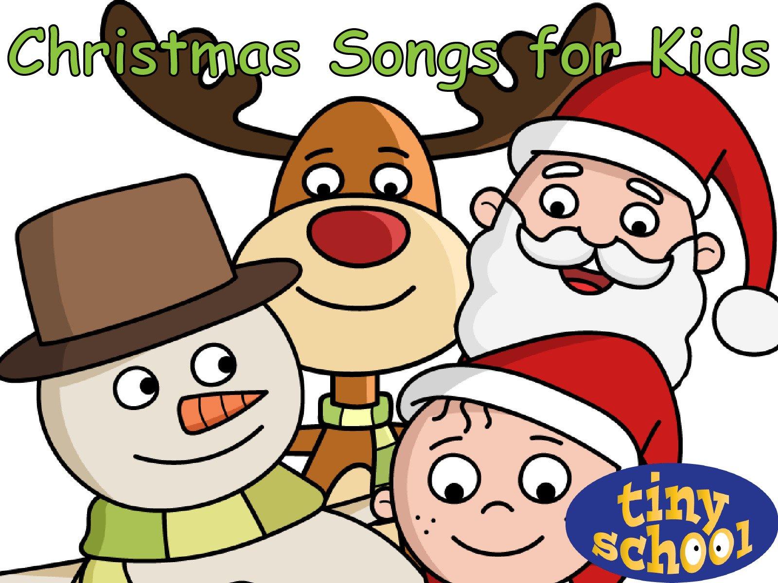 Amazon.com: Watch Christmas Songs for Kids - Tinyschool | Prime Video