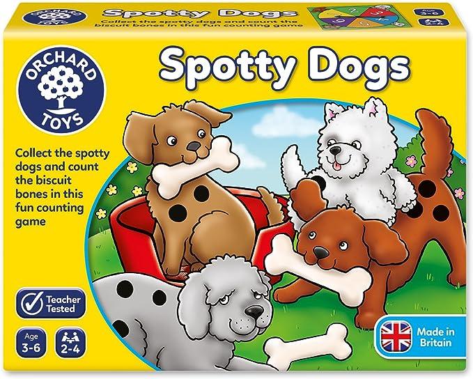 Orchard_Toys Spotty Dogs - Juego de mesa (en inglés): Amazon.es: Juguetes y juegos
