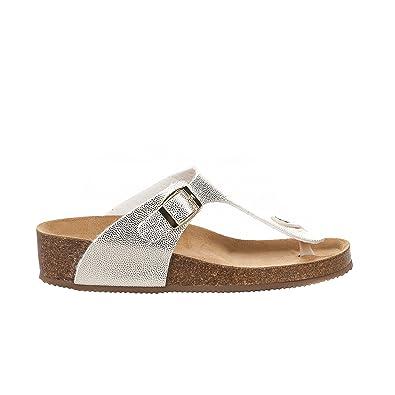 Sandals Damen Sandalen, Gold - Goldfarben - Größe: 38