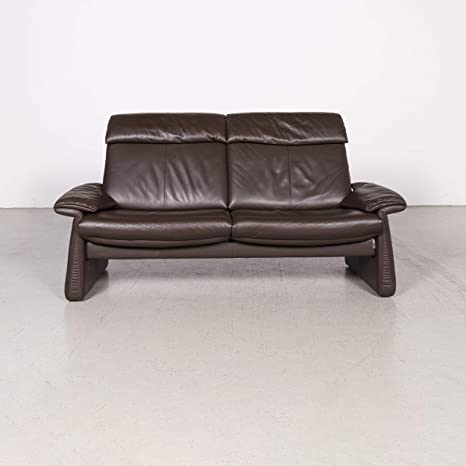 Amazon.com: Erpo - Sofá de piel para sofá de tres plazas ...