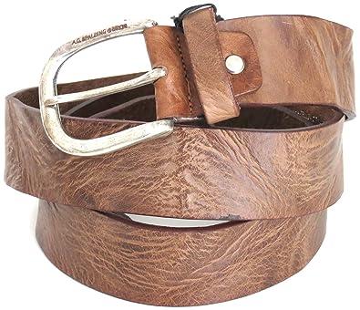 AG Spalding   Bros cuir Ceinture wave terre  Amazon.fr  Chaussures ... 9cc0db2ed41