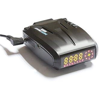 DriveSmart EVO GPS cámara de Velocidad y Detector de cámara de luz roja con detección de Furgoneta láser móvil incorporada. Actualizaciones de Base de Datos ...