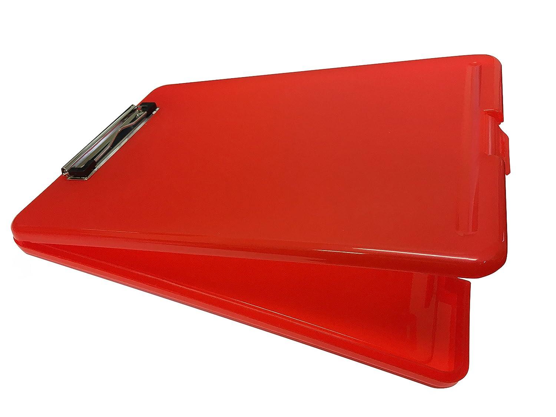 /Contenitore deposito custodia Janrax A4/rosso Clipboard box file/