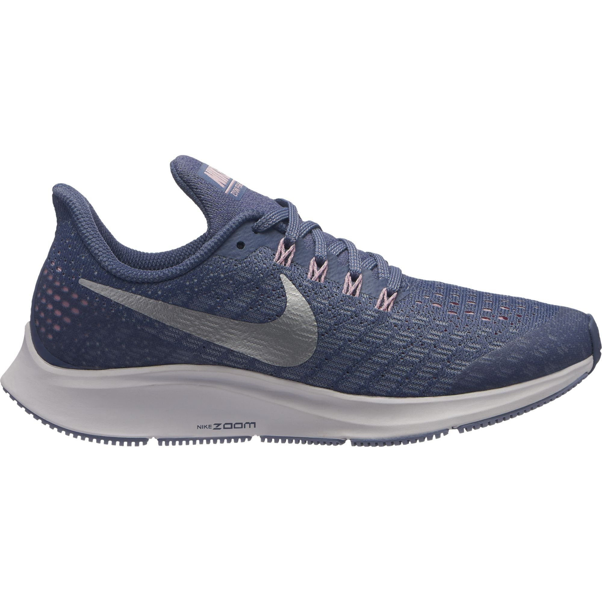 Nike Girl's Air Zoom Pegasus 35 Running Shoe Diffused Blue/Metallic Silver Size 2 M US