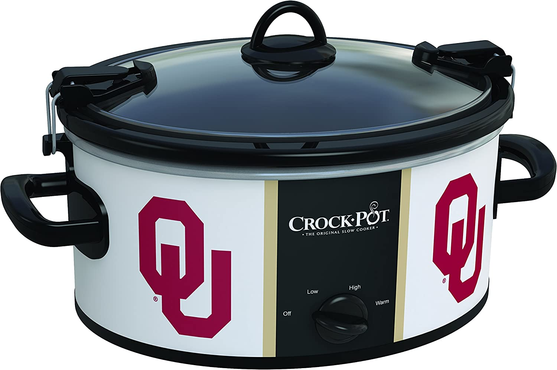 Oklahoma Sooners Collegiate Crock-Pot Cook Carry Slow Cooker