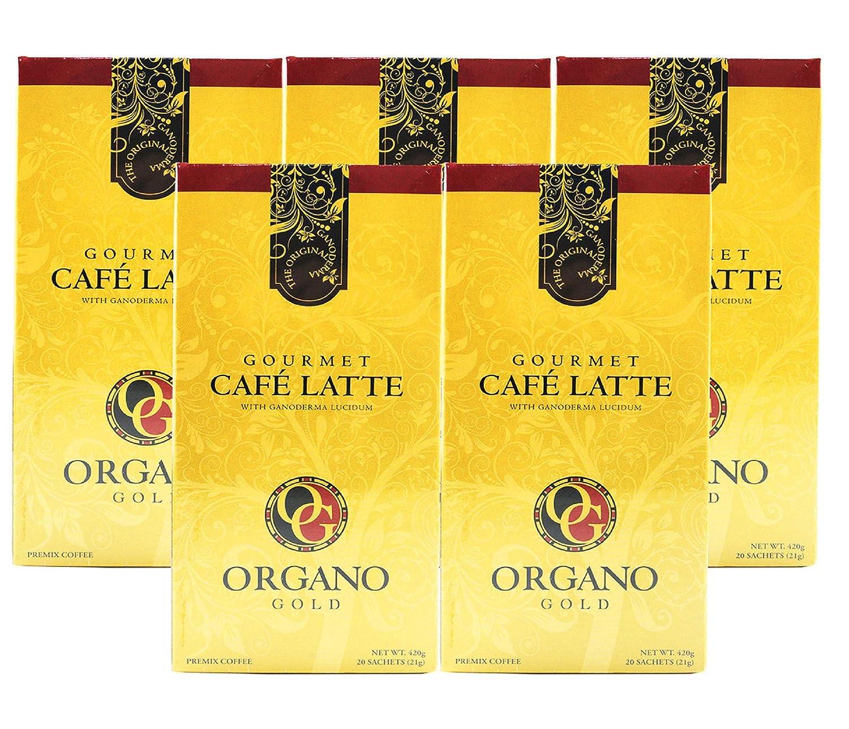 Organo Gold - Cafe Latte Case of Super special price 5 Boxes Bargain sale 4 Set